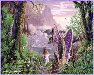 observando mundo fantasia